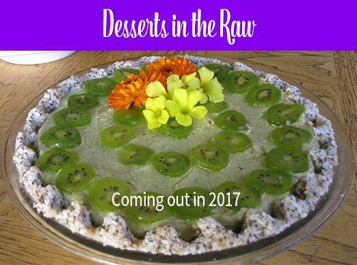 Raw Vegan Kiwi Lime Pie